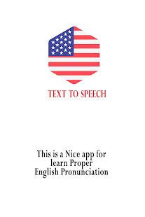 English Pronunciation - Text To Speech for PC / Windows 7, 8