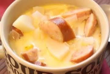 Potato and Kielbasa Chowder