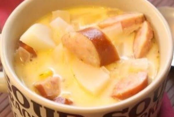 Potato And Kielbasa Chowder Recipe