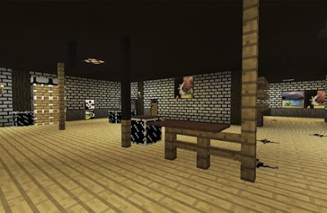 Horror Bendy map for mcpe - part 3 Screenshot