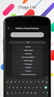Medical Drugs Dictionary Offline free - náhled