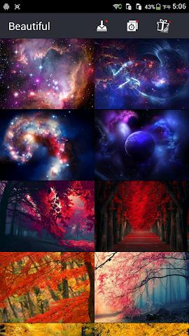 android Really Beautiful Wallpapers Screenshot 2