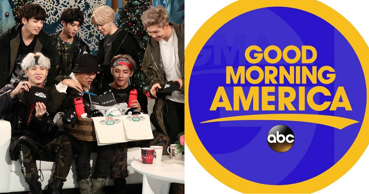 Good Morning Too In Korean : Good morning america says they want bts on their show
