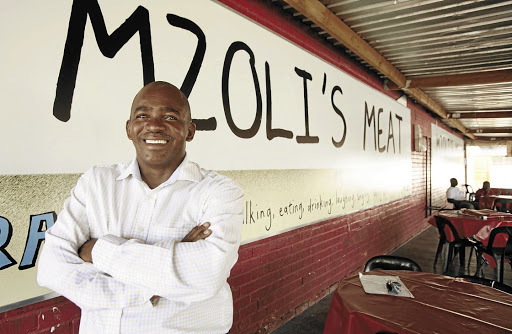 Mzoli Ngcawuzele's business was a beacon of township tourism till it was gutted by protesters.
