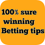 100% Sure win bet icon