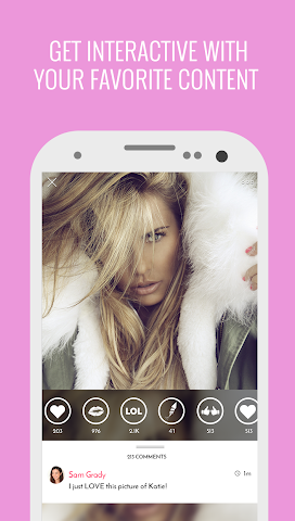 android Katie Price Official Screenshot 1