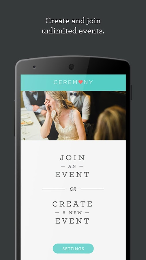 Ceremony - Gather Wedding Photos From Every Guest- screenshot