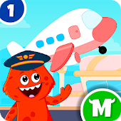 My Monster Town - Airport Games For Kids Android APK Download Free By IDZ Digital Private Limited