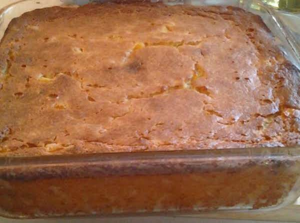 Corn Bread Cake Recipe