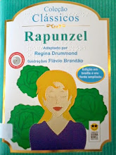 Photo: Rapunzel - Coleção Clássicos Grimm  Localização: Braille J G874r  Edição Braille e em fonte ampliada