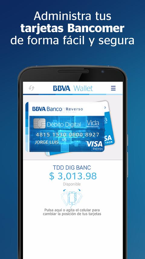 BBVA Wallet | Bancomer- screenshot