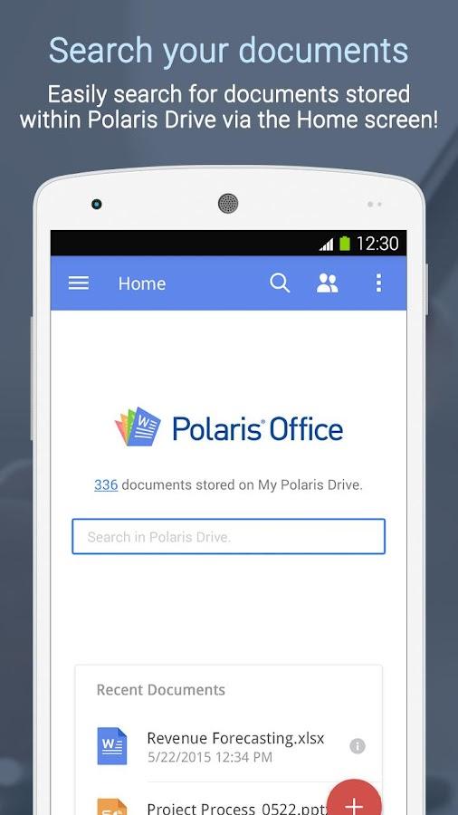 Polaris Office + PDF- screenshot