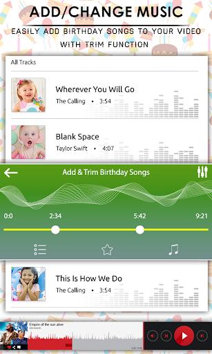 Birthday Video Maker With Music & Editor 1.0.3 screenshots 5