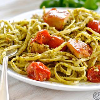 Linguine With Pesto Sauce Chicken Recipes