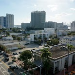 view from Lincoln parking deck Miami in Miami, Florida, United States