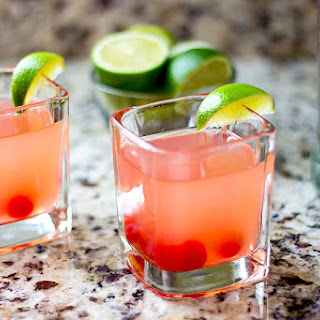Cherry Limeade Vodka Cocktail