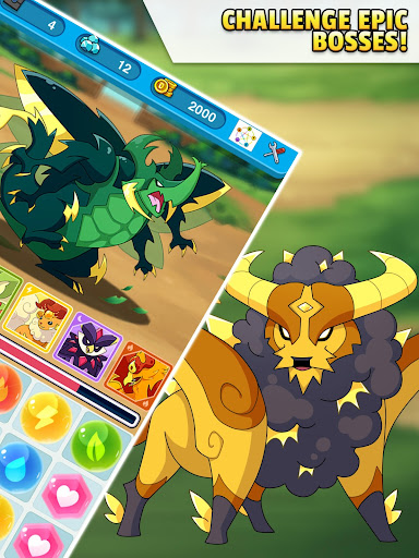 Dynamons Evolution Puzzle & RPG: Legend of Dragons 1.0.90 screenshots 16