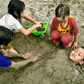 playing with sand by Krus Haryanto - Instagram & Mobile Other