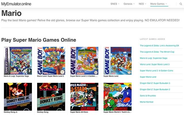 Super Mario Games Online