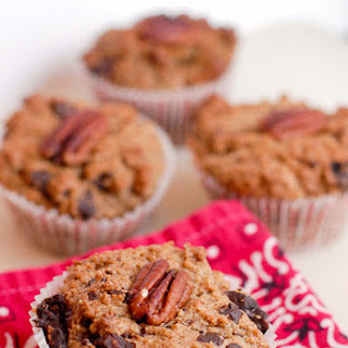 Bacon Mesquite Chilies-and-Cherries Chocolate Muffins