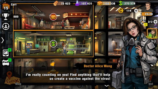 Zero City: Zombie games for Survival in a shelter screenshot 5