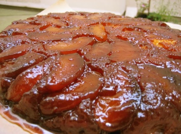 Fresh Apple Upside Down Cake Recipe