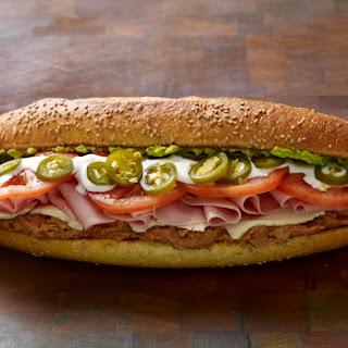 Ham and Cheese Torta Sandwiches.