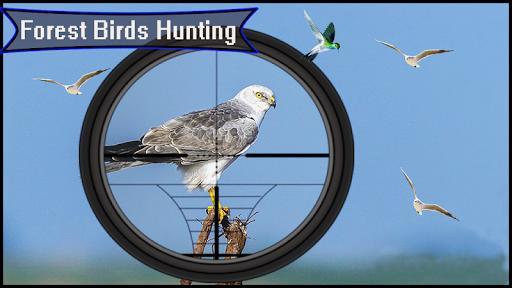 Télécharger Forêt 3D - Chasse aux oiseaux - Tireur d'élite APK MOD (Astuce) screenshots 2