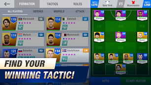11x11: Soccer Club Manager screenshot for Android