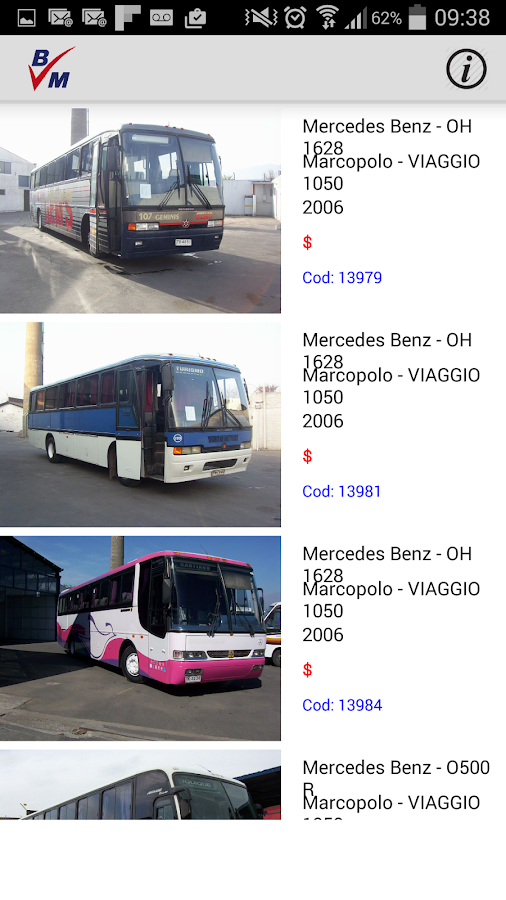 BusMarket- screenshot