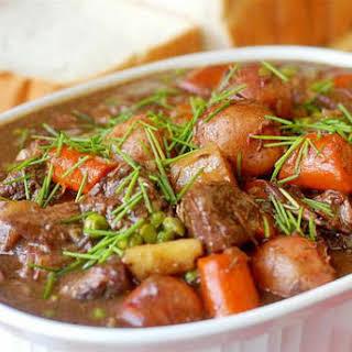 Burgundy Beef Stew.