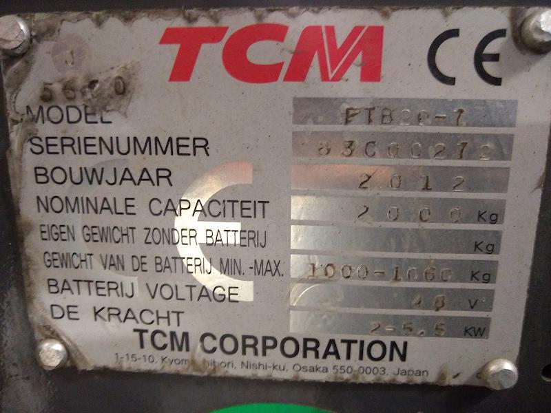 Picture of a TCM FTB20-7