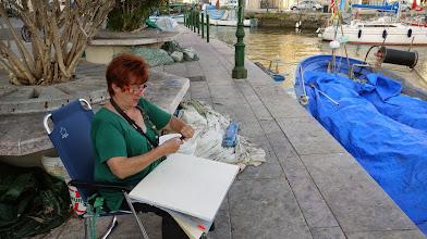 Photo: Zeichnen in Grado