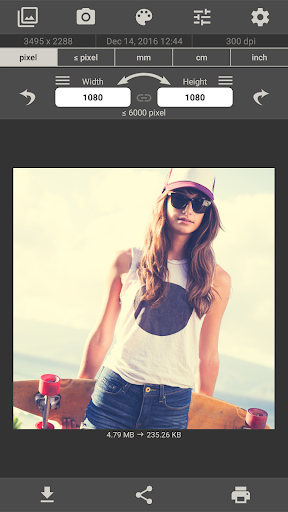 Image Size - Photo Resizer 6.2 screenshots 2