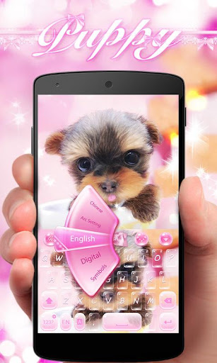 PUPPY GO Keyboard Theme|玩個人化App免費|玩APPs