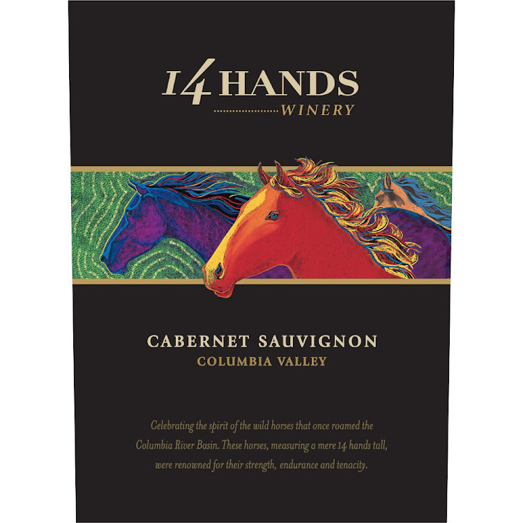 Logo for 14 Hands Cabernet Sauvignon