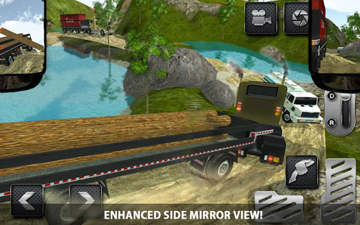 4x4 Logging Truck Real Driver game (apk) free download for Android/PC/Windows screenshot