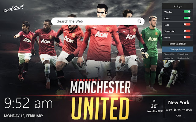 Manchester United Hd Wallpapers New Tab Theme