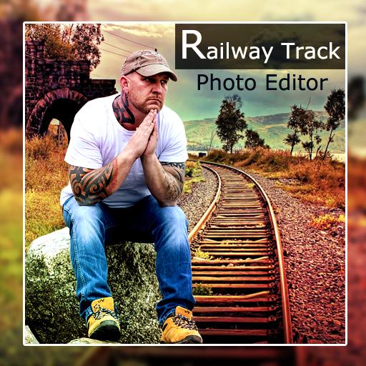Railway Track Photo Editor