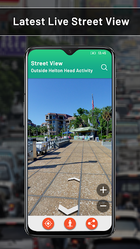 Street View: My Location,GPS Coordinates Live Maps - screenshot