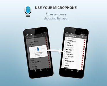 Shopping list voice input PRO screenshot 2