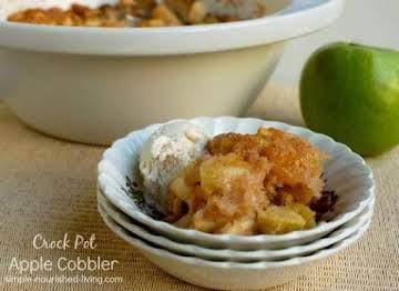Crock Pot Apple Cobbler Recipe   Simple Nourished Living