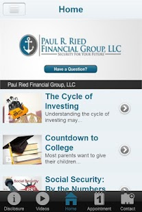 Paul Ried Financial Group LLC- screenshot thumbnail