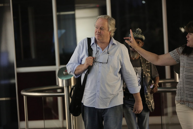 Veteran Journalist and Author of the controversial book 'The Presidents Keepers' Jacques Pauw. Pauw in his book has accused president Jacob Zuma of tax evasion. Picture: ALAISTER RUSSELL