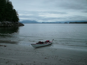 Photo: Open Bight in Rivers Inlet.