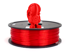 Silky Red MH Build Series PLA Filament - 1.75mm (1kg)