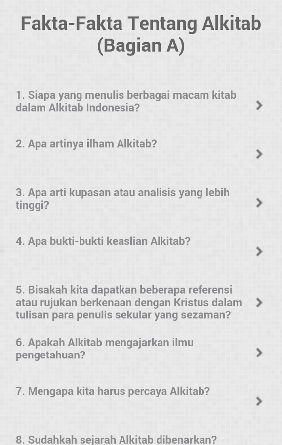 1000 Jawaban Alkitab- screenshot