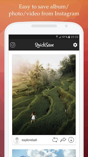 Image of QuickSave for Instagram - Downloader and Repost 2.3.5 1