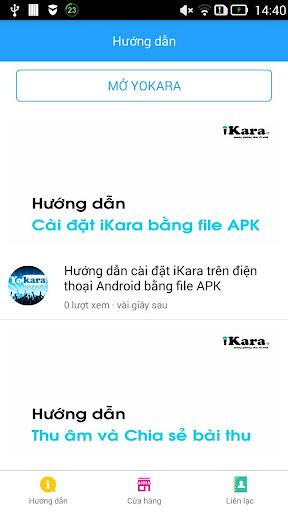 iKara Help - Hướng dẫn hát karaoke trên điện thoại for PC