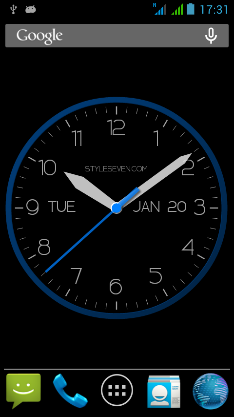how to stop clock on google